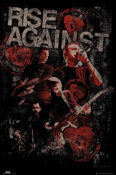 Rise against - Posterize Poster înrămat