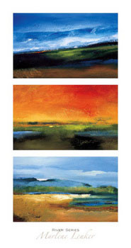 River Series Festmény reprodukció