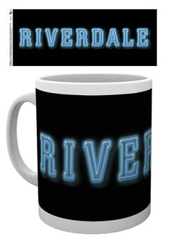 Skodelica Riverdale - Logo On Black