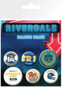 Κονκάρδες πακέτο Riverdale - Mix