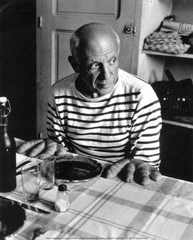 Robert Doisneau - Les Pains de Picasso, 1952 - плакат (poster)