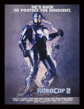 ROBOCOP 2 - 1990 one sheet üveg keretes plakát