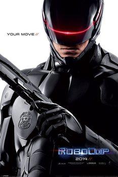 ROBOCOP - 2014 teaser - плакат (poster)