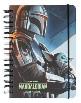 Rokovnik Dnevnik Star Wars: The Mandalorian