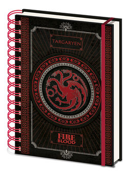 Rokovnik Game Of Thrones - Targaryen