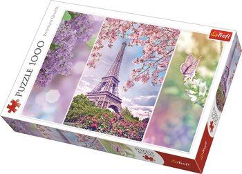 Puzzle Romantic: Jaro v Paříži