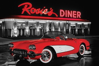 Rosie's diner - плакат (poster)