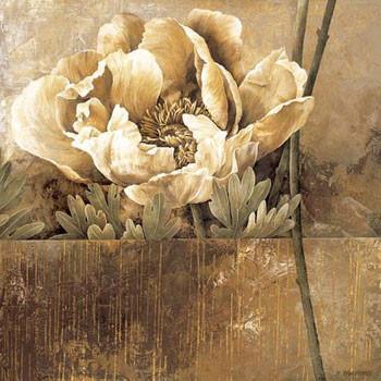 Rustic Garden II Festmény reprodukció