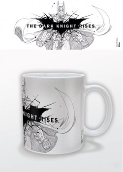 Batman The Dark Knight Rises - Sketch Šalice