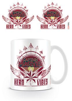 Captain Marvel - Hero Vibes Šalice