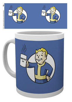 Fallout - Vault Boy Holding Mug Šalice