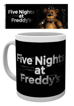 Five Nights At Freddy's - Logo Šalice