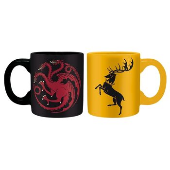 Šalice Game Of Thrones - Targaryen & Baratheon