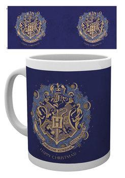 Harry Potter - Xmas Hogwarts Šalice