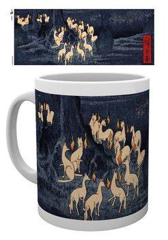 Hiroshige - New Years Eve Foxfire Šalice