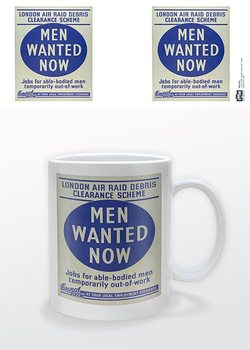 IWM - Men Wanted Now Šalice