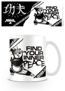 Kung Fu Panda 3 - Inner Peace Šalice