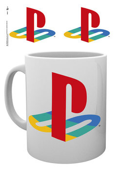 Playstation - Colour Logo Šalice