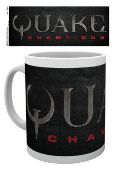 Quake - Logo Šalice
