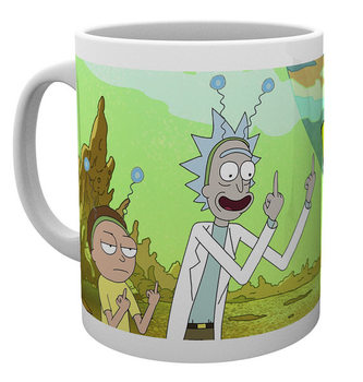 Rick And Morty - Peace Šalice