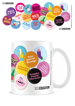 Šalice Sex Education - Push My Buttons