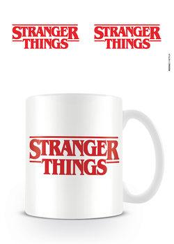 Stranger Things - Logo Šalice