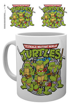 Teenage Mutant Ninja Turtles - Retro Šalice