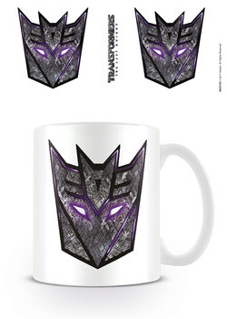Transformers: The Last Knight - Decepticon Logo Šalice