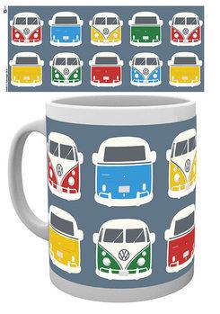 VW Camper - Campers Colours Illustration Šalice