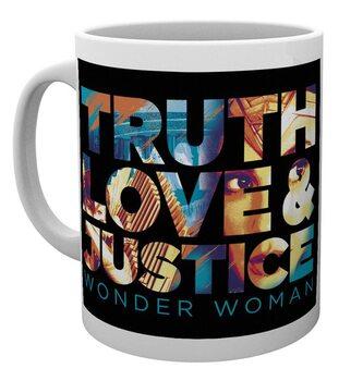 Šalice Wonder Woman 1984 - Truth, Love & Justice