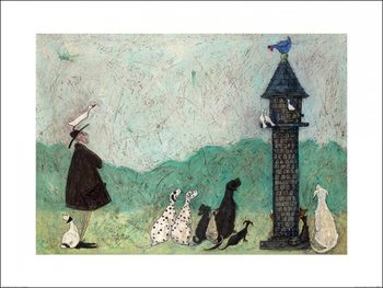 Sam Toft - An Audience with Sweetheart Festmény reprodukció
