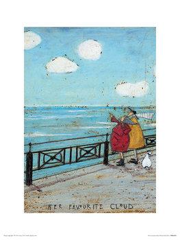 Εκτύπωση έργου τέχνης Sam Toft - Her Favourite Cloud