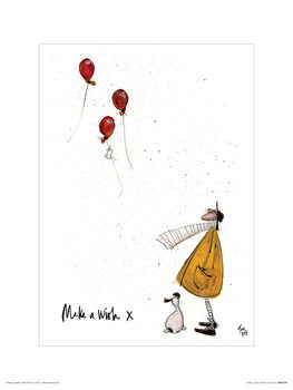 Sam Toft - Make a Wish Festmény reprodukció