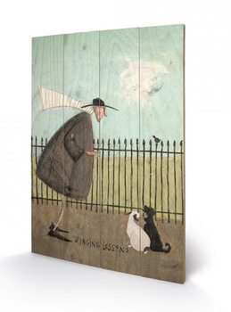 Poster su legno Sam Toft - Singing Lessons