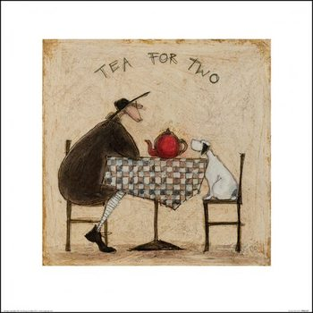 Sam Toft - Tea for Two Festmény reprodukció