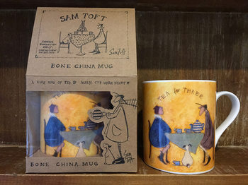 Cană Sam Toft - Tea for Two Tea for Three