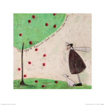 Sam Toft - The Apple Doesn't Fall Far From The Tree Festmény reprodukció