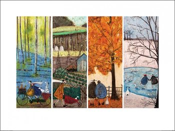 Sam Toft - Which is Your Favourite Season? Festmény reprodukció