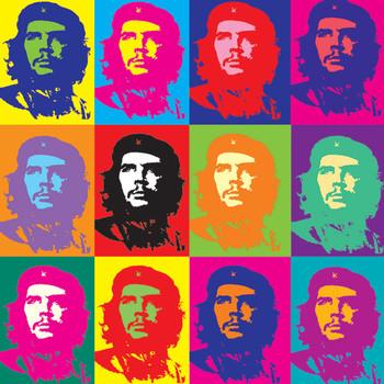 Samolepka CHE GUEVARA - pop art