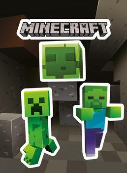 Samolepka Minecraft - Creepers