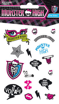 Samolepka  MONSTER HIGH - girls