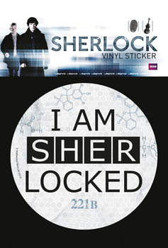 Samolepka Sherlock - Sherlocked