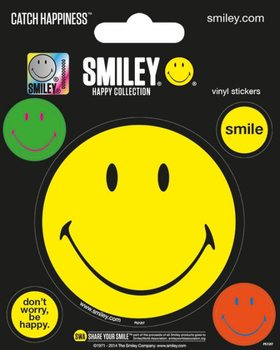 Samolepka  Smiley - Happy Collection
