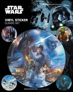 Samolepka Star Wars - Classic