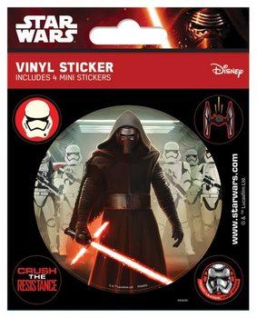 Samolepka Star Wars VII: Síla se probouzí - Kylo Ren