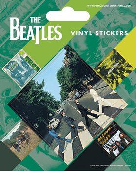Samolepka The Beatles - Abbey Road