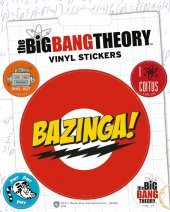 Samolepka The Big Bang Theory (Teorie velkého třesku) - Bazinga