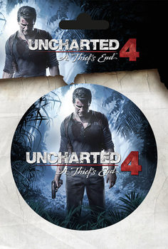 Samolepka Uncharted 4 - A Thiefs End