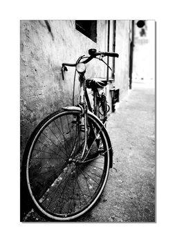 Bike (Zwart Wit) Schilderij