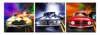 Cars Schilderij